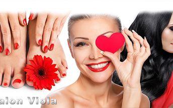 4hod. BEAUTY DAY pro ŽENY! Vlasová proměna, kosmetika, pedikúra, manikúra, masáž, P-shine a další!