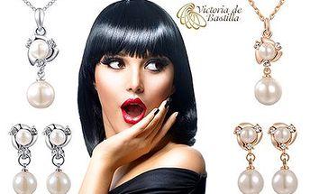 Set šperků zn. Victoria de Bastilla: náhrdelník a náušnice