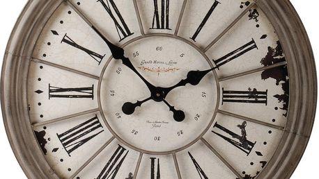 Hodiny Grey Pendulum, 69 cm - doprava zdarma!