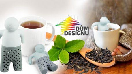 """SILIKONOVÉ ČAJOVÉ SÍTKO """"ČLOVÍČEK"""" nebo """"MROŽ""""na sypaný čaj ze 100% potravinářského silikonu!"""