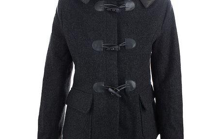 Dámský šedý vlněný kabátek Phard