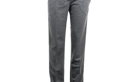 Dámské šedé kalhoty s proužkem Phard