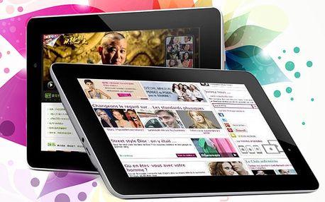 """9"""" tablet s OS Android: s HD duálním foťákem a 2jádrovým procesorem"""