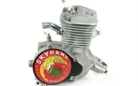 Udělejte z kola mopeda! Přídavný motor na kolo Sky Hawk Gt
