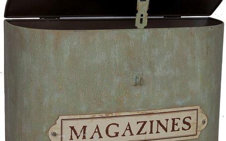 Box na časopisy Suitcase