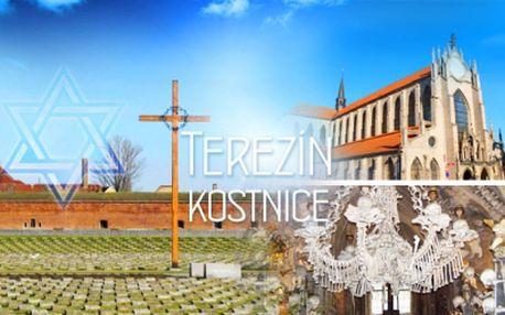 Koncentrační tábor Terezín a hřbitovní kostel plný kostí! Doprava a průvodce v ceně! Zájezd plný poznání!