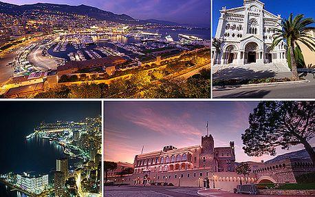 Nezapomenutelný víkend v Monaku s návštěvou Nice a relaxací na Azurovém pobřeží