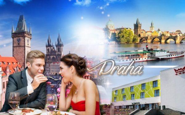 Valentýnská romantika na pražské Zbraslavi! 3 dny pro 2 osoby v novém, stylovém hotelu Nad Královnou***!
