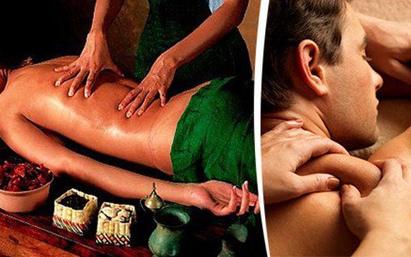 90 minut exkluzivní masáže ramen a zad