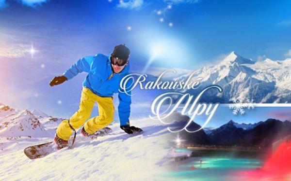 Lyžařský víkend v rakouských Alpách pro 1 osobu ve valentýnském termínu 13.2.-15.2.2015 včetně polopenze!
