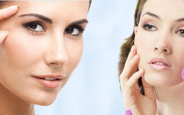 Kosmetické ošetření pleti s použitím ultrazvukové špachtle a galvanické žehličky