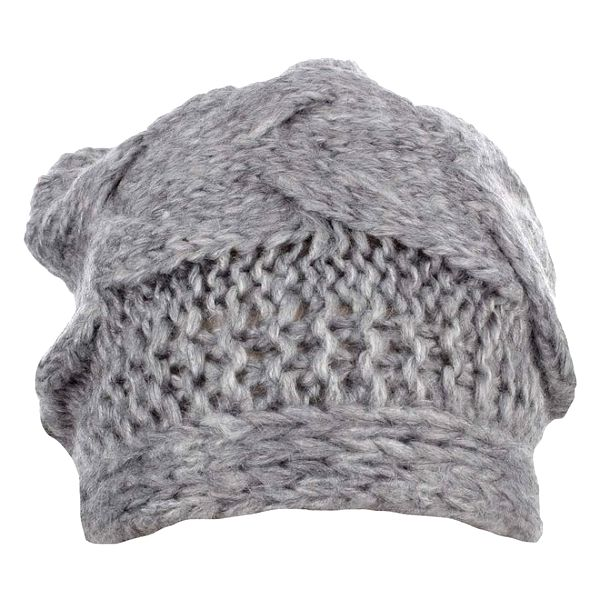 Dámská šedá zimní čepice Phard