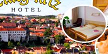 Krásná historická Třebíč! Užijte si wellness pobyt na 3 -5 dní pro 2 osoby v krásném Hotelu Zlatý Kříž! S polopenzí,privátním vstupem do whirlpoolu nebo sauny, ochutnávkou luxusních sypaných čajů nebo kávy a další! Platnost poukazu až do září!