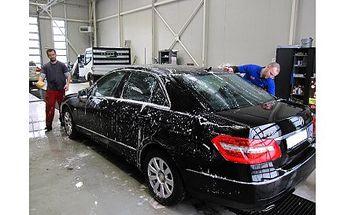 Ruční mytí automobilu v Ostravě