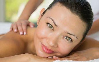 Hodinová masáž dle výběru + zábal zdarma