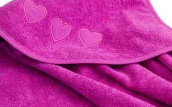Koupací ručník s kapucí 100% organická bavlna