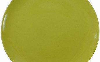 Servírovací talíř zelený, 32cm, Ambition