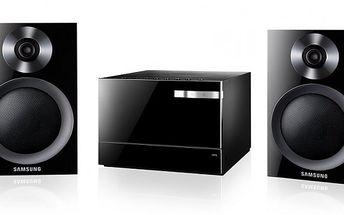 Stylový a kompaktní CD mikrosystém s USB vstupem Samsung MM-E320