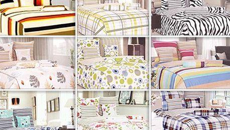 Originální 8dílné ložní sety v 8 různých vzorech