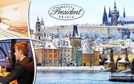 Pětihvězdičková romantika v samém centru Prahy