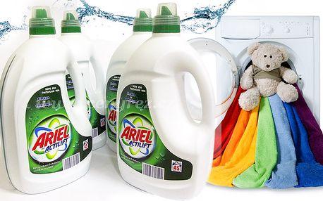 4 x 3 litry pracího gelu Ariel Actilift