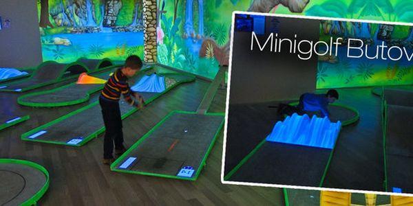 První UV minigolf v ČR