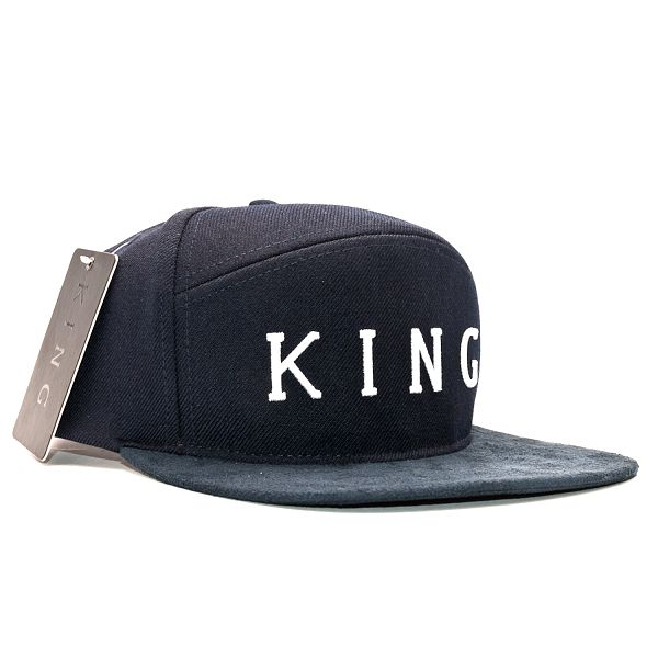 Kšiltovka King Apparel Staple Navy Strapback