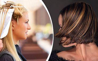Kadeřnický profesionální balíček - melír a střih pro všechny délky vlasů