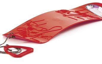 Malý, perfektně tvarovaný snowboard, zábava pro holky i kluky