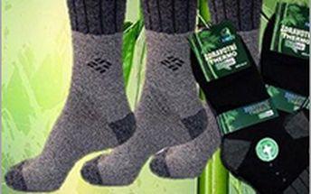 5 párů ponožek z bambusu