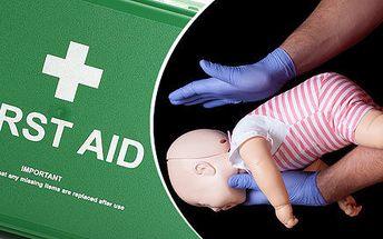 Víkendové kurzy první pomoci, nejen pro starostlivé maminky
