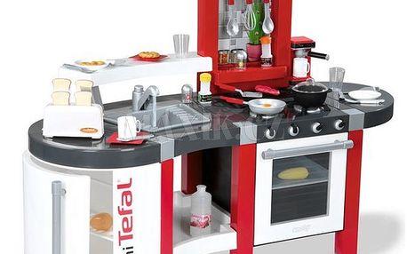 Kuchyňka Tefal Super Chef s tekoucí vodou Smoby 024213
