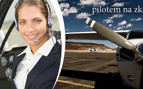 Pilotem letadla na zkoušku 15 nebo 30 minut - více než vyhlídkový let!!! Vyberte si, zda poletíte ULL Skylane nebo ULL Eurostar. V bezkonkurenční ceně je instruktáž a pak jste pilotem Vy!