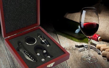 Dárková sada na víno s poštovným v ceně