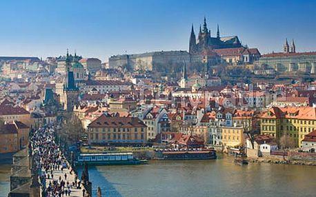Praha - komfortní pobyt pro DVA ve 4* hotelu s bohatými snídaněmi