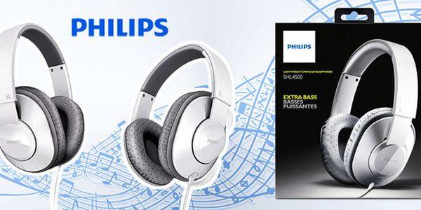 Lehká sluchátka Philips s kvalitními reproduktory