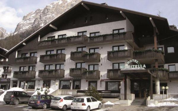 Itálie, oblast Arabba/Marmolada, polopenze, ubytování v 3* hotelu na 8 dní