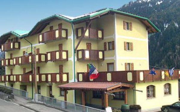 Itálie, oblast Marilleva/Folgarida, polopenze, ubytování v 3* hotelu na 8 dní