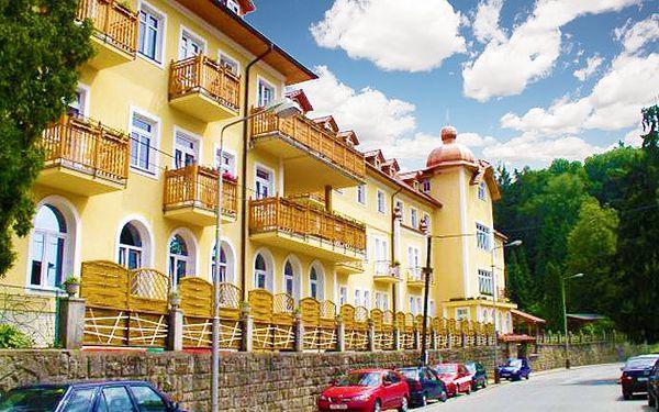 Lázeňský regenerační wellness pobyt na 3 dny s polopenzí pro 2 osoby v Luhačovicích