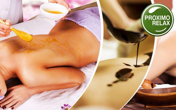 60 min zdravotní či sladce relaxační masáže