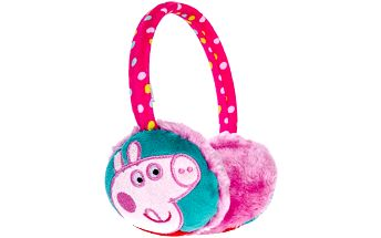 Dívčí klapky na uši - Prasátko Pepina