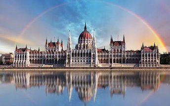 3 nebo 4 dny pro DVA v Budapešti se snídaní i vstupem do bazénu