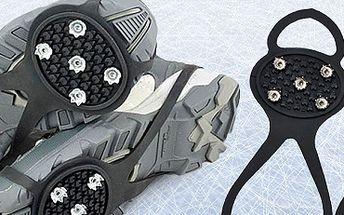 Protiskluzové návleky na boty: sníh ani led už vás nepřekvapí!