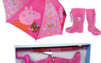 Set s Pepinou - deštník a holínky