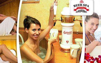 Wellness hýčkání v pivních lázních hotelu Clarion