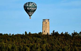 Hodinový let balonem v ČR i na Slovensku se křtem a křestním listem