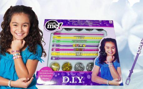 Sety doplňků pro mladé slečny! Souprava pro výrobu náramků, tetování nebo smývatelná barva na vlasy!