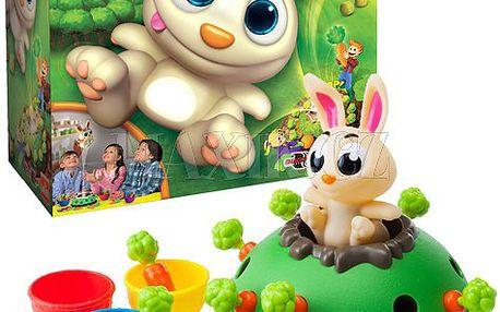 Stolní hra Skákající králíček, chyť ho a vyhraj