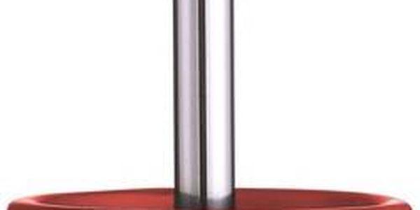 Toaletní kartáč Galzone, červený