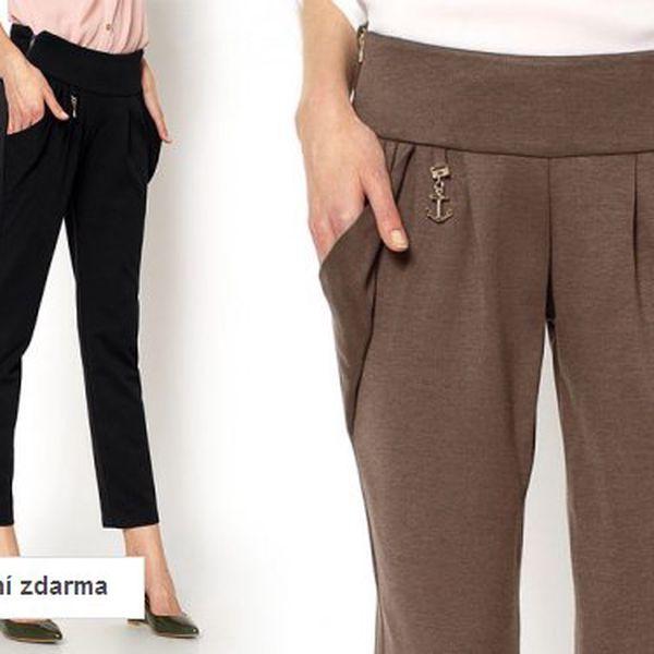 Elegantní dámské kalhoty – 2 barvy